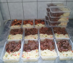 Individual Meals Provided by Brother Leagues Club