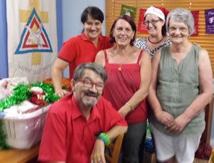 Anglicare Mackay Staff at Christmas
